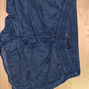 Denim banana republic shorts.